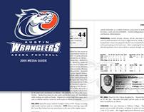 Austin Wranglers Media Guide 2005