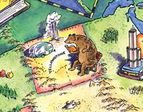 Summer Book Club Map
