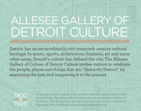 Allessee Gallery of Detroit Culture