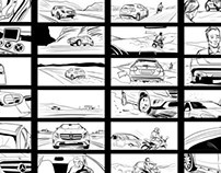 Storyboard for Mercedes-Benz GLA