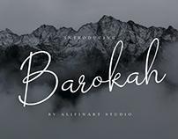 BAROKAH - FREE SCRIPT FONT