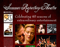 Summer Repertory Theatre Poster