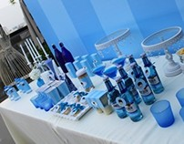 Blue&White birthday party