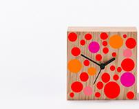 Clock / Obsession Yayoi Kusama