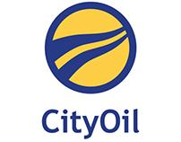 CityOil Logo Design