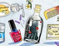 website slider illustration