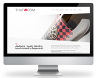 That's Com web design agency website