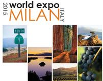 2015 World's Fair.  Milan.  The California Pavilion