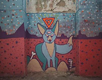 Mural in Covilhã