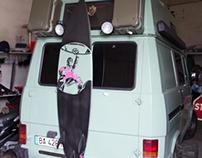 Tefi's Surfboards Stencils