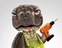 TEODOBRICO the DIY turtle