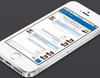 Simple Iphone chat application