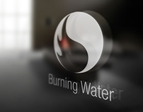 Burning Water Logo and Corporate Identity