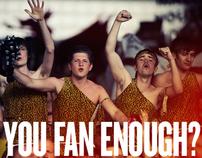 Lucozade Fans Fives