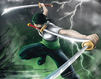 Roronoa Zoro of One Piece