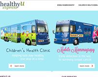 Web Design: healthyUexpress
