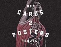 NBA Cards2Posters