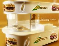 burger cart