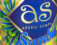 APERO SYMPA - AS SAMBA, designed by LINEA