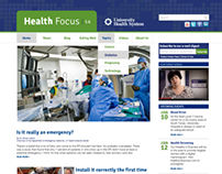 Web Design: Health Focus SA