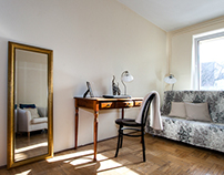 Express home staging - flat in Warsaw