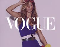 Vogue Magazine - British Vogue App on iPad