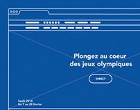 France TV JO Sochi 2014 Redesign / UX