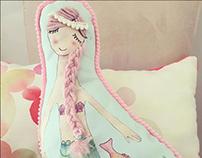 Cojin para niños/Ilustracion/Diseño Textil