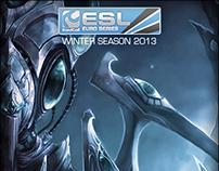 ESL Euro Series Winter 2013 Graphics Assets