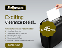 Clearance Sale-Fellowes Office Products