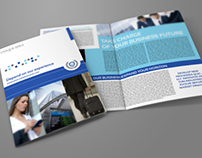 Company Brochure Bi-Fold Template Vol.20