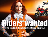 SIXT motorbike campaign