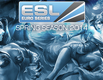 ESL Euro Series Spring 2014 Graphics Assets