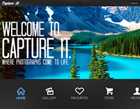 Capture It - Photography Website