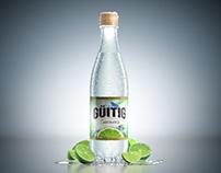 Botella Güitig presentación Essences