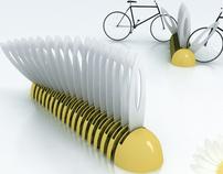 MARGUERITE bike rack concept