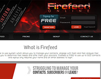 Firefeed - Manage | Engage | Analyse