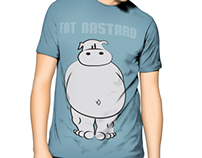 Flat Illustrations - Serigraphy - T-shirts