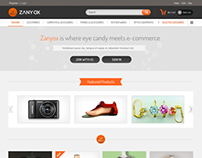 Zanyox Web Template