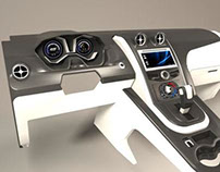 Ford Focus Concept Dashboard for VISTEON