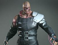 LowPoly Nemesis - Resident Evil FanArt