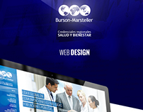 B-M Health Care LATAM / Web Design