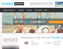 Coupons Binder Cashback Project by ilead digital