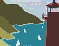Great Lakes Lighthouse Festival Poster