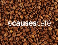 Causes Café Logo Concept