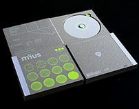 Limited edition CD packaging for mïus