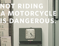 Not Riding A Motorcycle