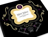 Mae West: Custom Typeface & Book (ADAA Semifinalist)