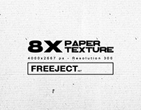 Free Download 8x Detail Paper Texture Collection