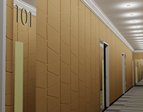 Hotel Boutique 1060 - Pasillos de las habitaciones